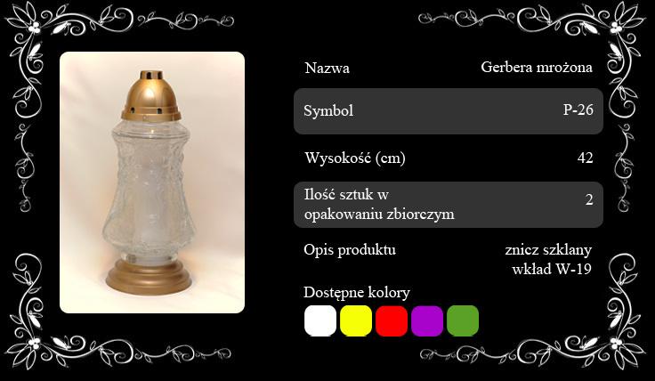Gerbera-mrozona